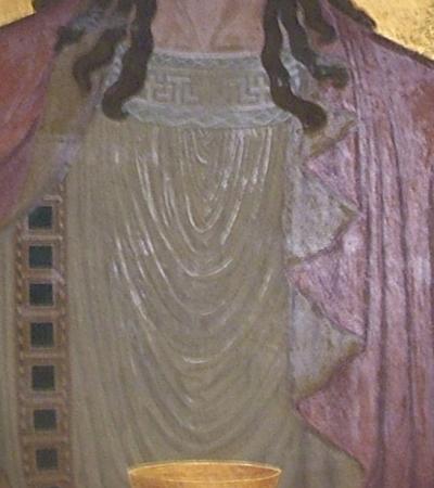 Mosteiro São Bento - Capela do Santíssimo - Parede do Altar - Cristo