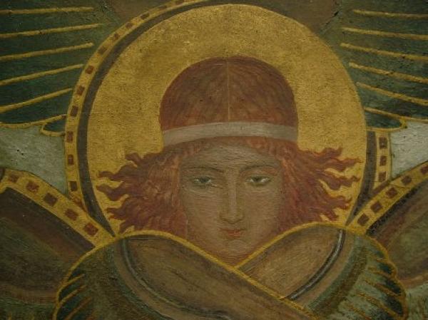 Mosteiro São Bento - Capela do Santíssimo - Parede do Altar - Anjos