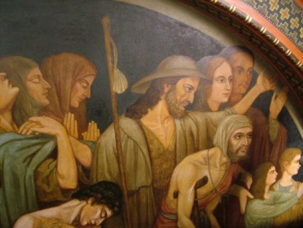 Mosteiro São Bento - Capela do Santíssimo - Parede Lateral Esquerda