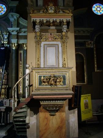 Igreja Imaculada Conceição - Púlpito