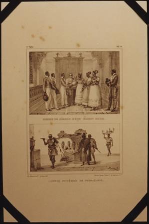 Mariage de Negres DUne Maison Riche /Convoi Fúnebre de Negrillons